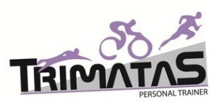 Logotipo Trimatas entrenador triatlon